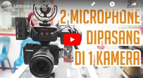 Review Adapter WS V2 Saramonic AX100 Batamkameracom Kameraaksicom