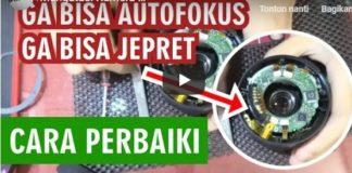 Memperbaiki Auto Fokus Mati Lensa Kit 18-55 Canon