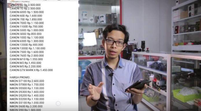 Penipuan Toko Kamera Online di Batam