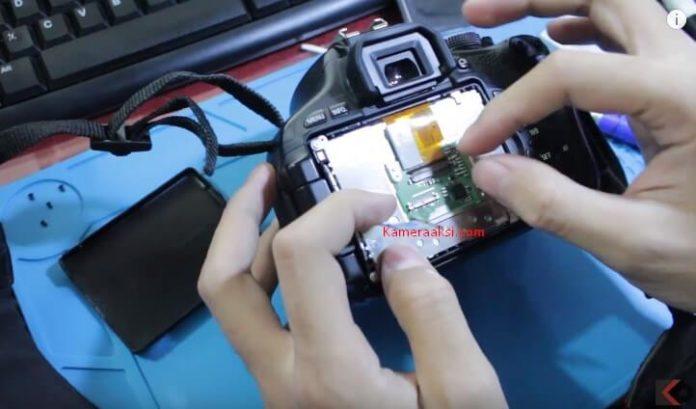 Panduan Lengkap Ganti LCD Canon 600D
