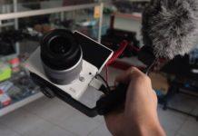 Cara Pasang Mic Eksternal di Canon M10