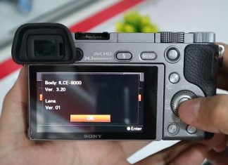 Cara Update Firmrware Kamera Sony Mirrorless
