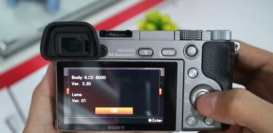Cara Update Firmrware Kamera Sony Mirrorless