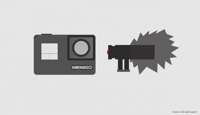 Cara Pakai Mic Eksternal di Gopro Action Camera