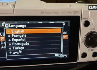 Cara Merubah Bahasa di kamera Sony