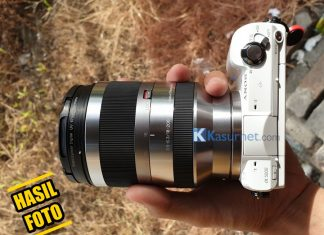 Review Lensa Sony SEL18-200