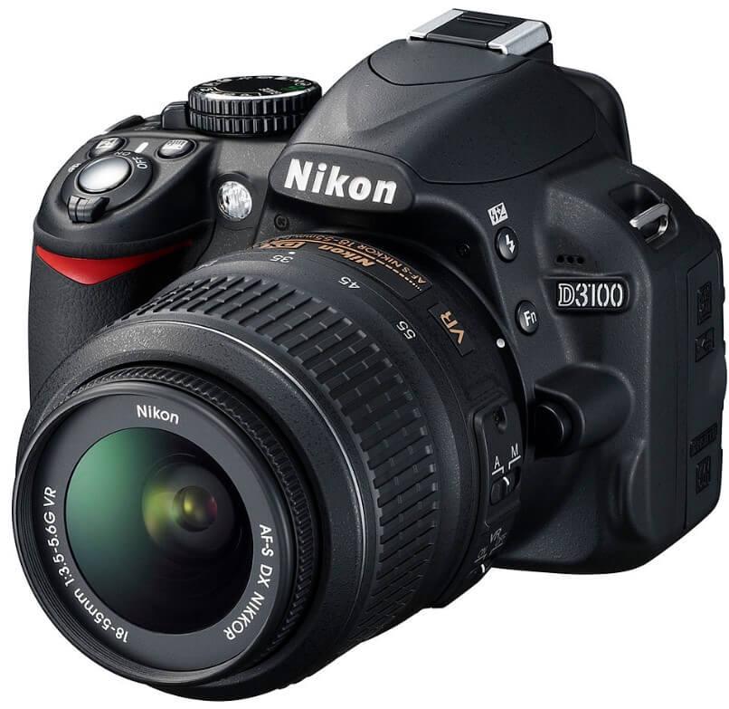 Kamera DSLR 2jtan Nikon D3100