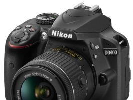 Spesifikasi Nikon D3400 Kit AF-P 18-55mm VR