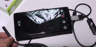 Cara Menggunakan Kamera Endoscope di Android