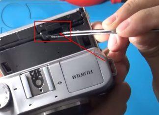 Cara memperbaiki flexible lcd fujifilm xa3