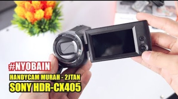 Review Handycam Sony HDR CX405