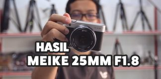 Lensa Fix Manual Murah Meike 25mm F1.8