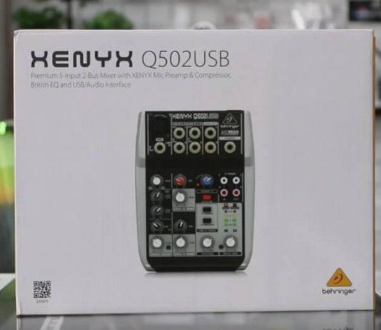 Unboxing dan Review Mixer Behringer Xenyx 502usb