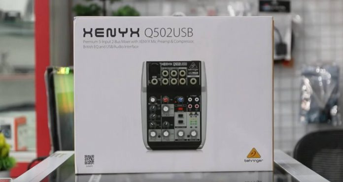 Unboxing dan Review Mixer Behringer Xenyx 502usb