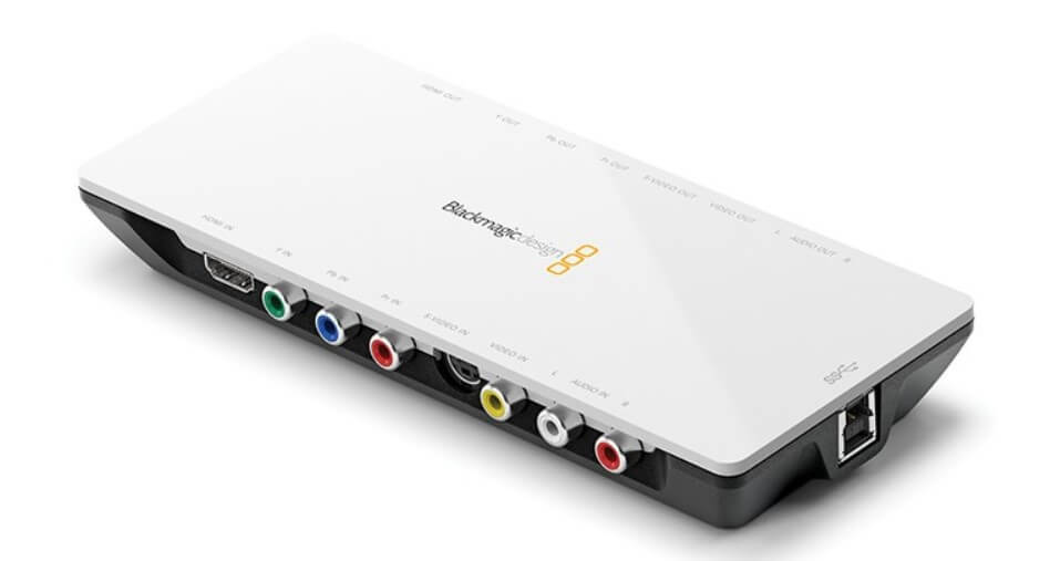 Capture card blackmagic intensity shuttle
