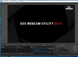 EOS Webcam Utility Stuck Solution