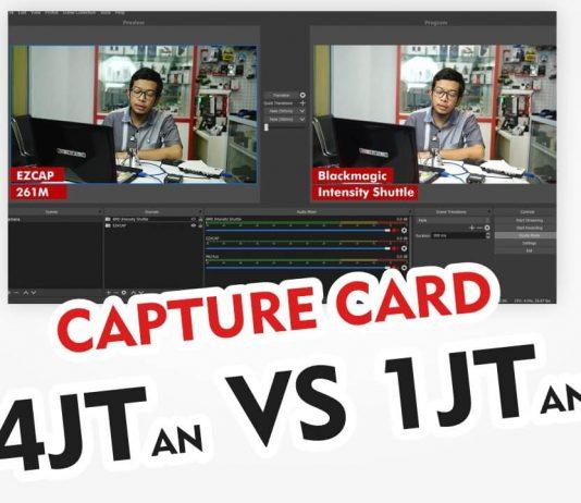 Perbedaan Capture Card Blackmagic dan Ezcap