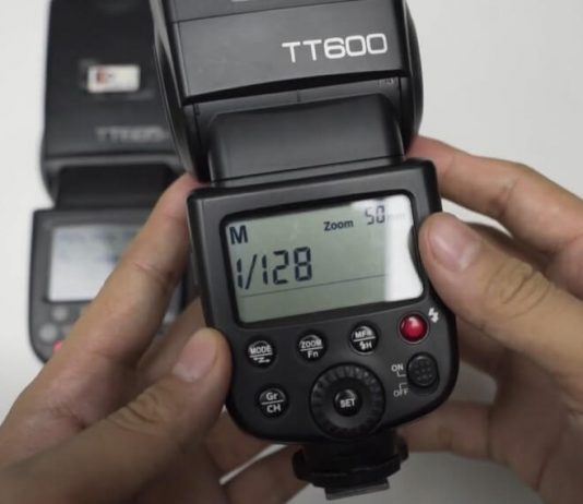 Cara menyambungkan flash tt600 ke tt685c