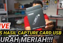 Hasil Streaming Capture Card Cina Murah