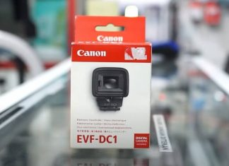 Unboxing Viewfinder Electronik EVF DC1 Indonesia