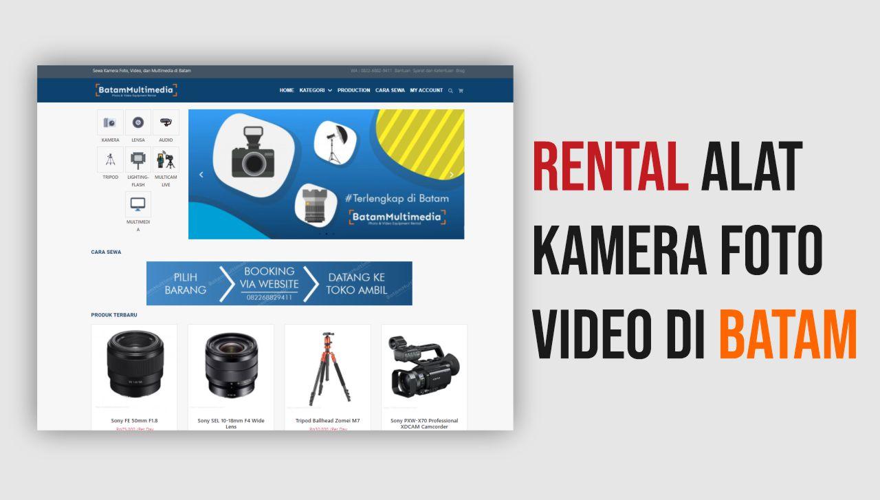 Rental Kamera di Batam