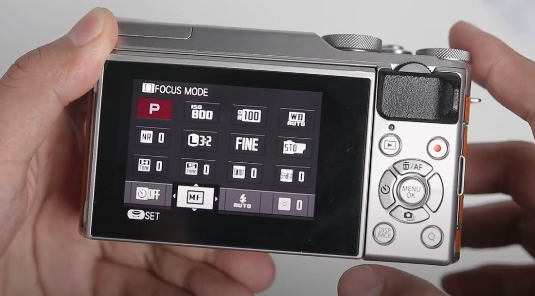 Settingan Manual Fokus Fujifilm