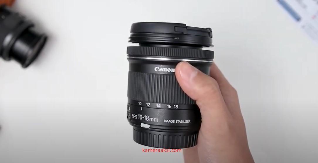 Lensa Canon EF-S 10-18mm IS STM