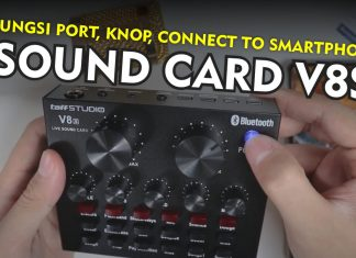 Sound CardLive V8S TaffStudio Tutorial Lengkap Pemula