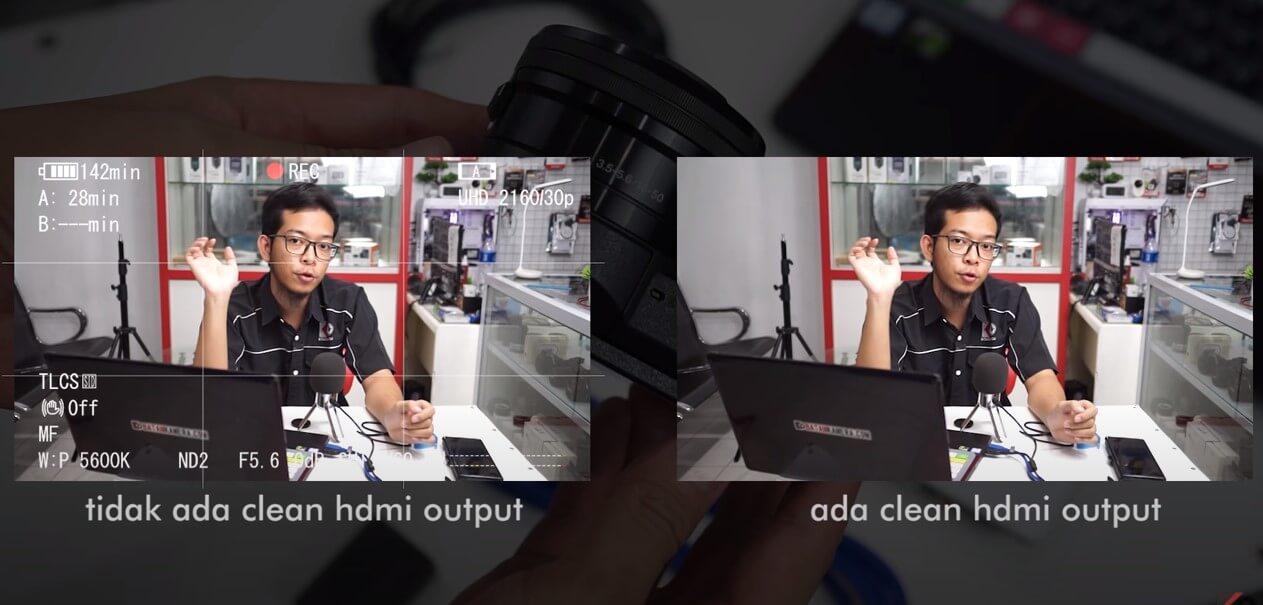 Perbedaan Clean HDMI dan Non Clean HDMI