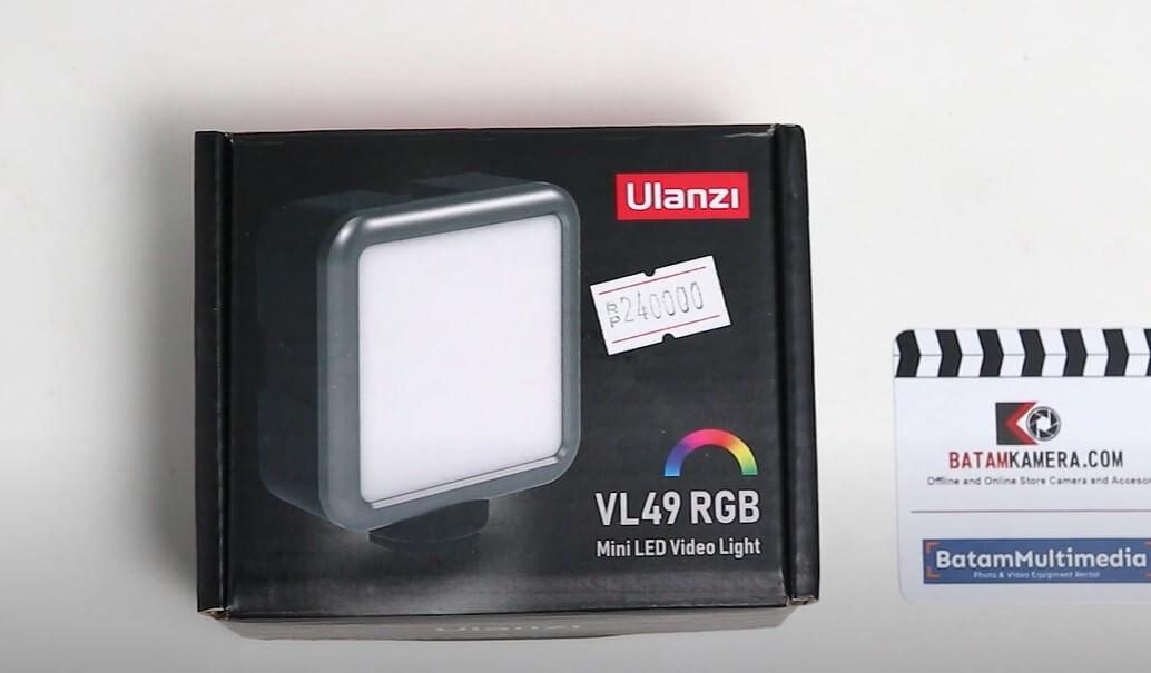 Ulanzi VL49 RGB Mini LED Video Light