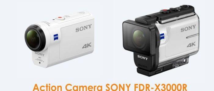 Nih lihat kecanggihan Action Camera SONY FDR-X3000R