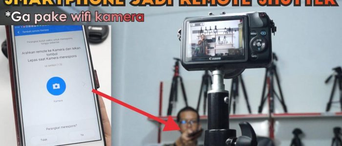 Cara Jadikan Smartphone Sebagai Remote Shutter Kamera Pake Xiaomi Mi Remote