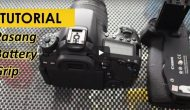 Permalink ke Cara Memasang Battery Grip Kamera Canon DSLR