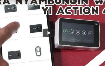 Permalink ke Cara Menyambungkan Yi 4K Action Camera ke Smartphone Android Dengan Mudah