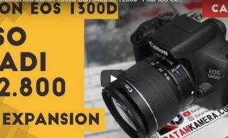 Permalink ke Cara Meningkatkan ISO Canon EOS 1300D Jadi 12.800