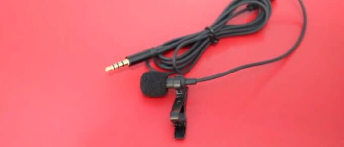 Review Mic Clip On 3.5mm TRRS With Audio Splitter