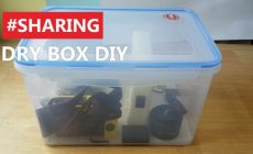 Permalink ke Membuat Dry Box Kamera Bikin Pake Box Kedap Udara