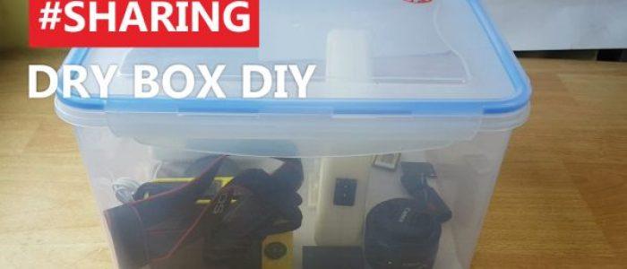 Membuat Dry Box Kamera Bikin Pake Box Kedap Udara