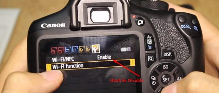 Mengatasi Kamera Canon 1300D Tidak Bisa Tersambung Dengan Kabel Data Komputer