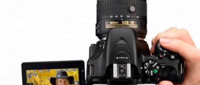 Rekomendasi Kamera DSLR Layar Sentuh