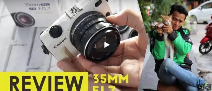 Review Lensa Meike 35mm F1.7 Untuk Kamera Mirrorless