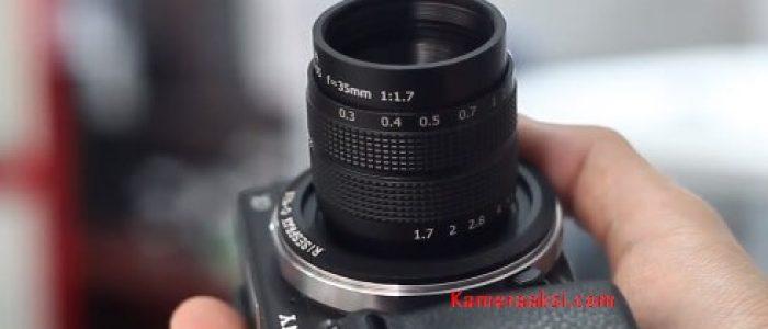 Review Hasil Lensa CCTV Fujian 35mm F1.7 di Kamera Mirrorless Sony Nex 6