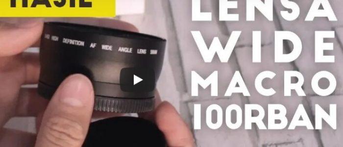 Review Lensa Wide Macro 100rban Untuk Lensa Kamera DSLR Mirrorless
