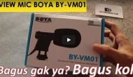 Permalink ke Review Mic Kamera Boya BY-VM01 Hasil Suaranya Tambah Bagus