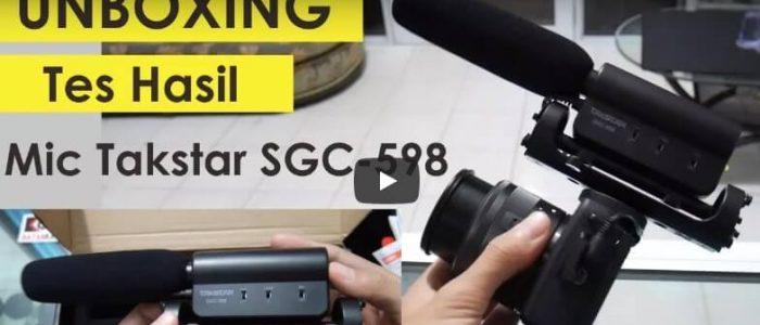Review Mic Takstar SGC-598 Indonesia