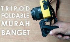 Permalink ke Review Tripod Mini Foldable, Mini Tripod Murah Banget Untuk DSLR, Action Cam, Hp