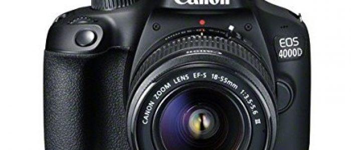 Spesifikasi Canon EOS 4000D Kit EF-S 18-55mm III