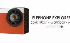 Permalink ke Spesifikasi Elephone Explorer S 4K, Desain Premium