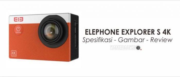 Spesifikasi Elephone Explorer S 4K, Desain Premium