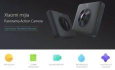 Permalink ke Penampilan dan Spesifikasi Xiaomi mijia 3.5K Panorama Action Camera